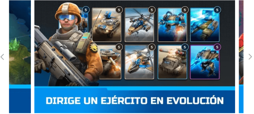 Command and Rivals app estrategia militar