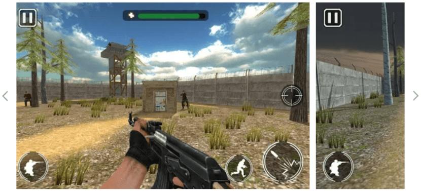 Ultimo Comando Guerra app VR