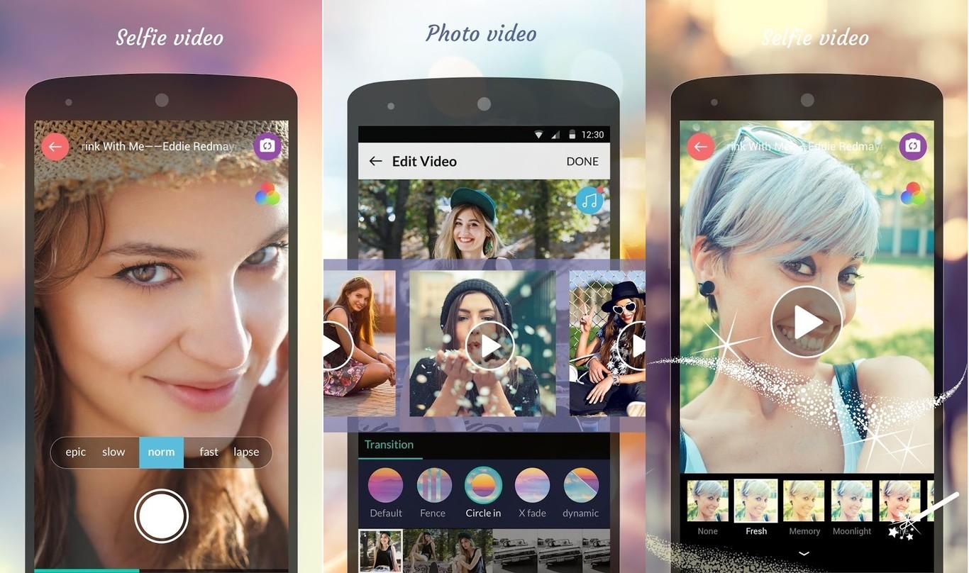 hacer vídeos con fotos en Android