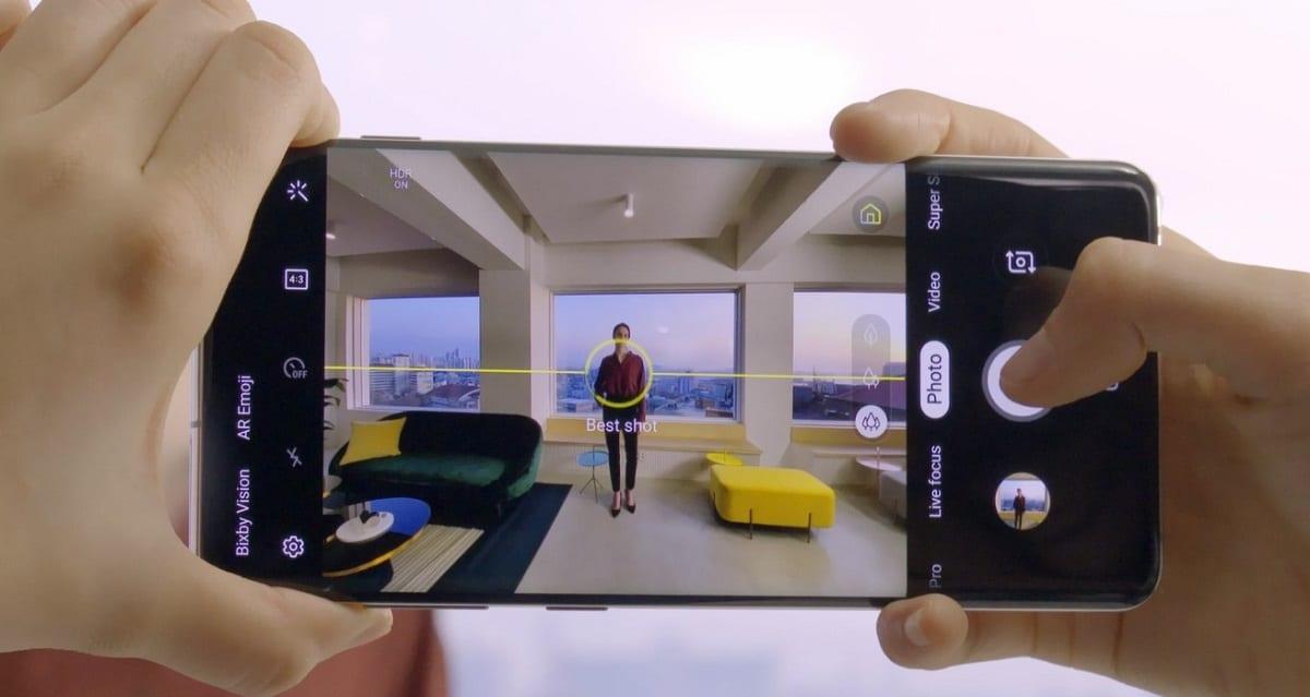 Aplicación cámara Android