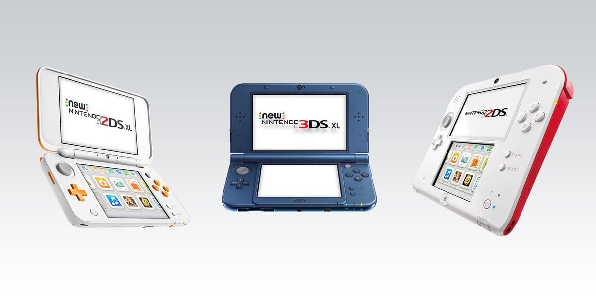 Nintendo 3DS con juegos Nintendo