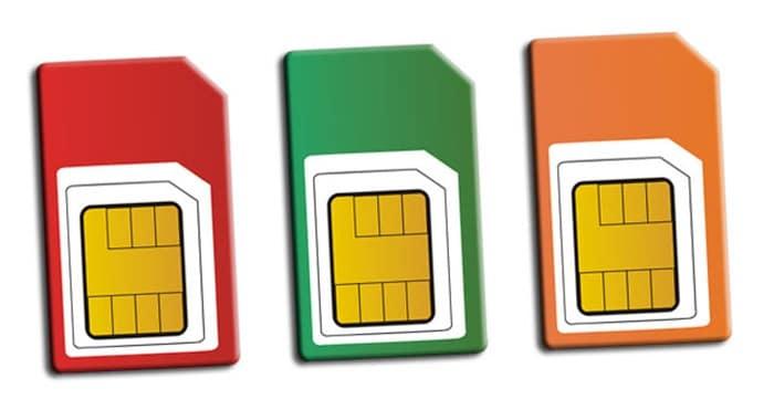 Tarjetas SIM libres