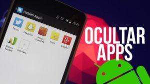 ocultar aplicaciones en Android