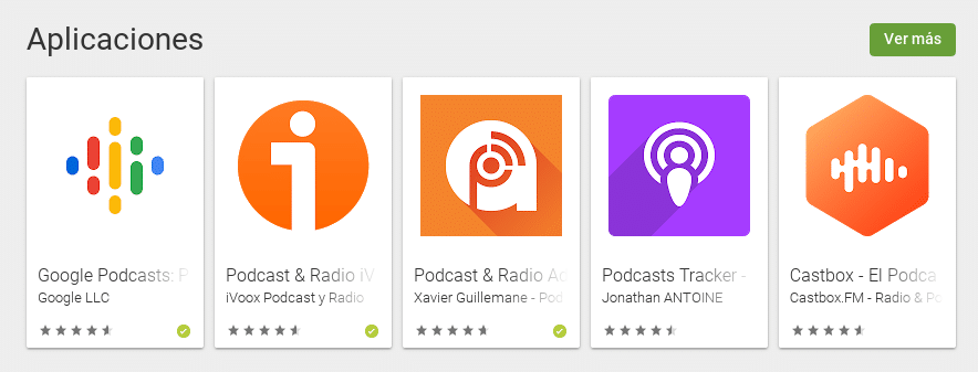 Apps para escuchar Podcasts