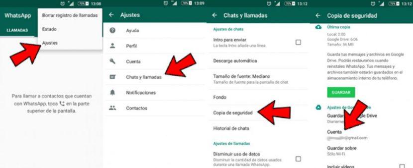 Pasos para exportar tus chats de WhatsApp