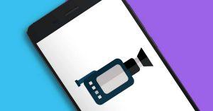 grabar la pantalla móvil Android