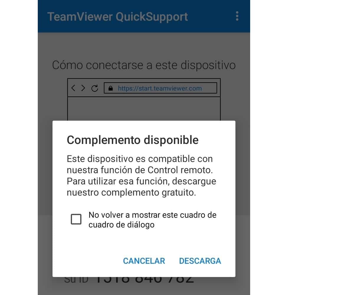 Compatibilidad de dispositivos con Teamviewer