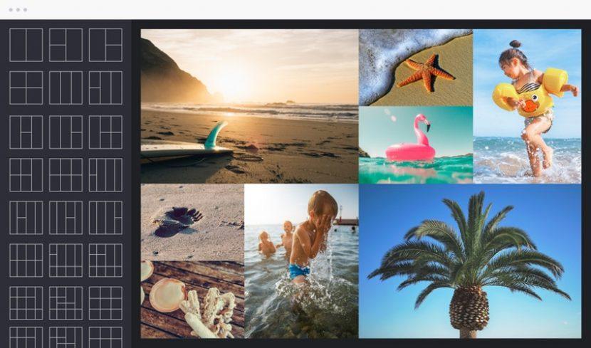Hacer collages fácilmente con herramientas y apps