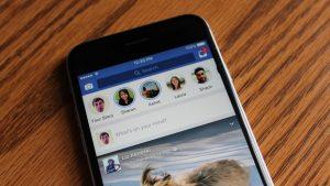 guardar las historias de Facebook