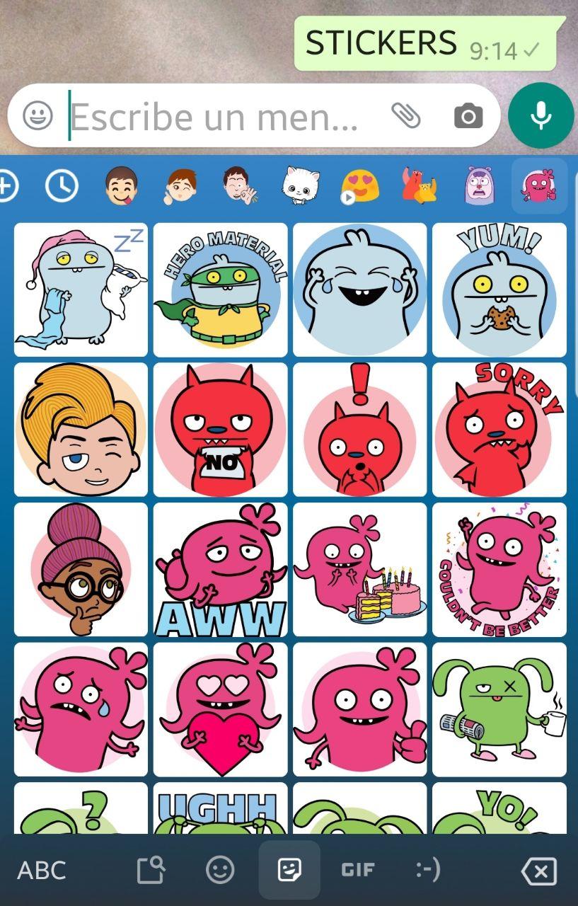 Cómo usar los Stickers en WhatsApp