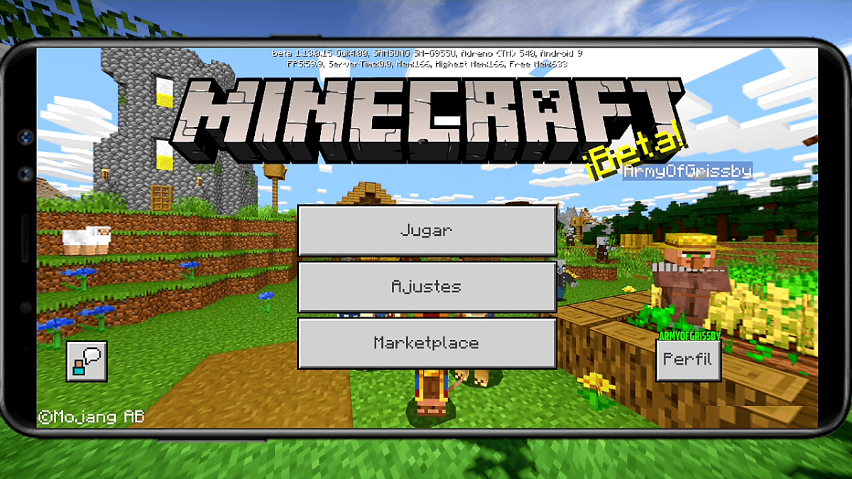 Minecraft Pocket Android