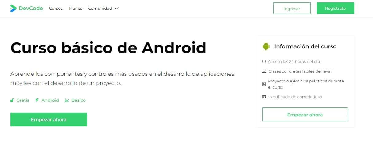 Programa aplicaciones para smartphone