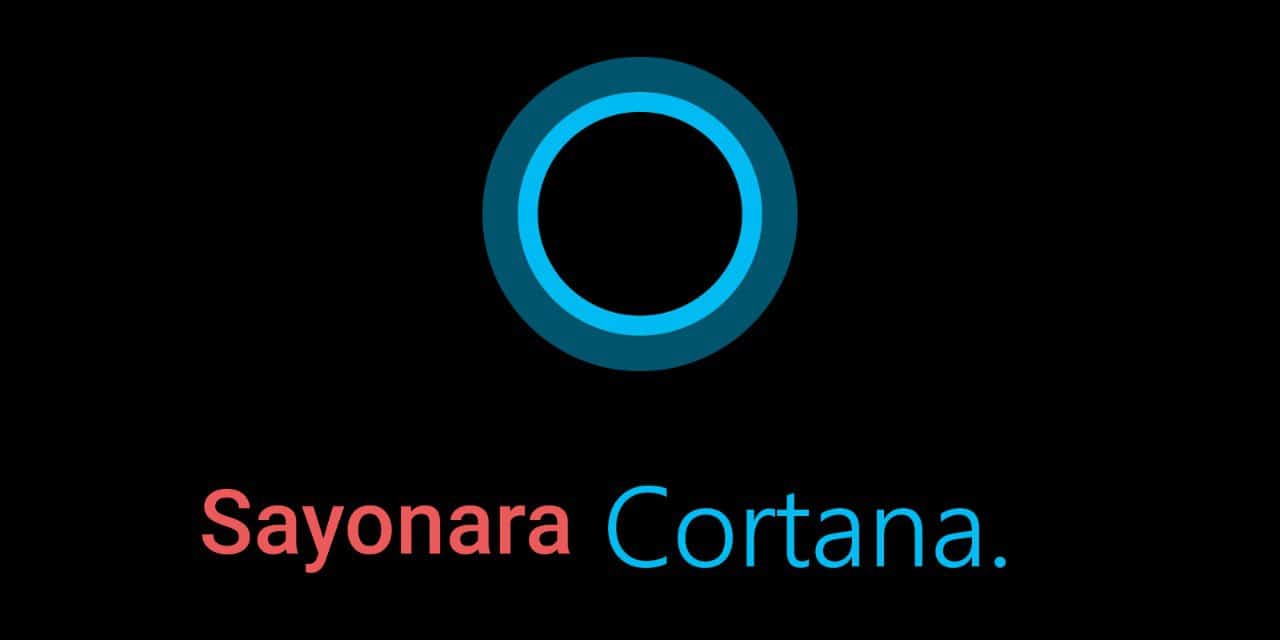 Eliminar Cortana de Windows en tu equipo