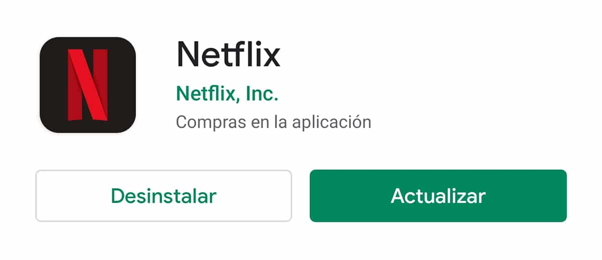 Netflix para móviles Android