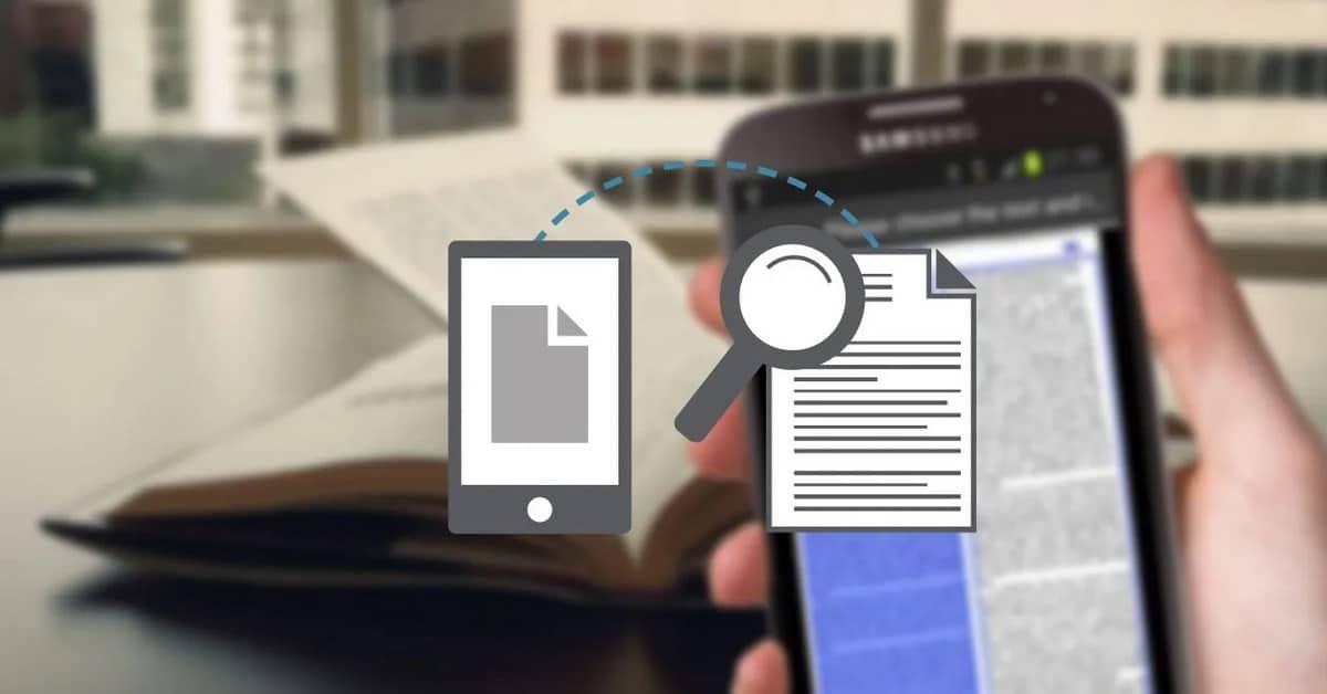Apps gratuitas para escanear documentos en android