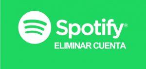 Cómo eliminar la cuenta de Spotify