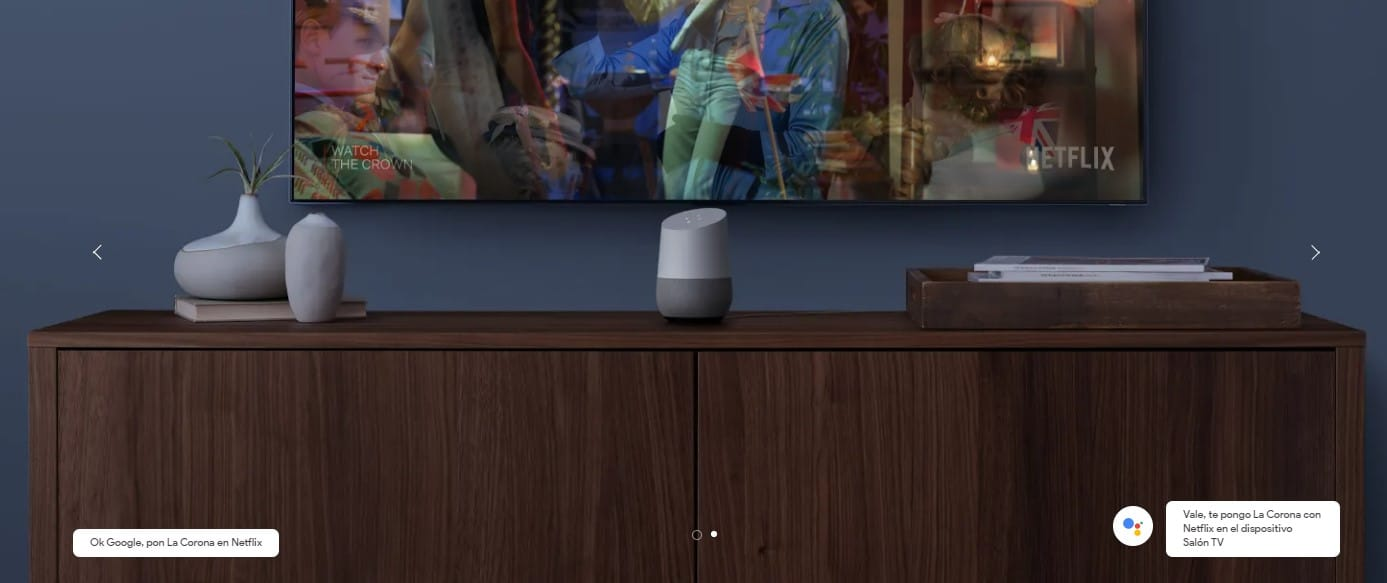 Comandos TV Google Home
