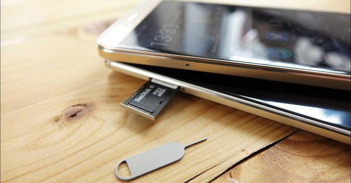 Instalar tarjeta SD en Android