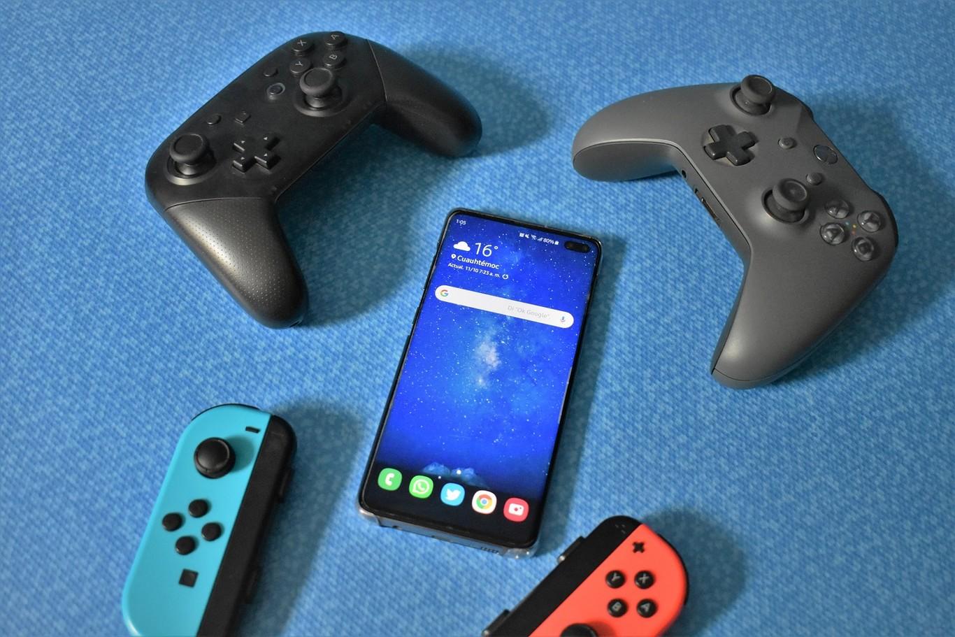 Mandos de nintendo switch para tu smarpthone android
