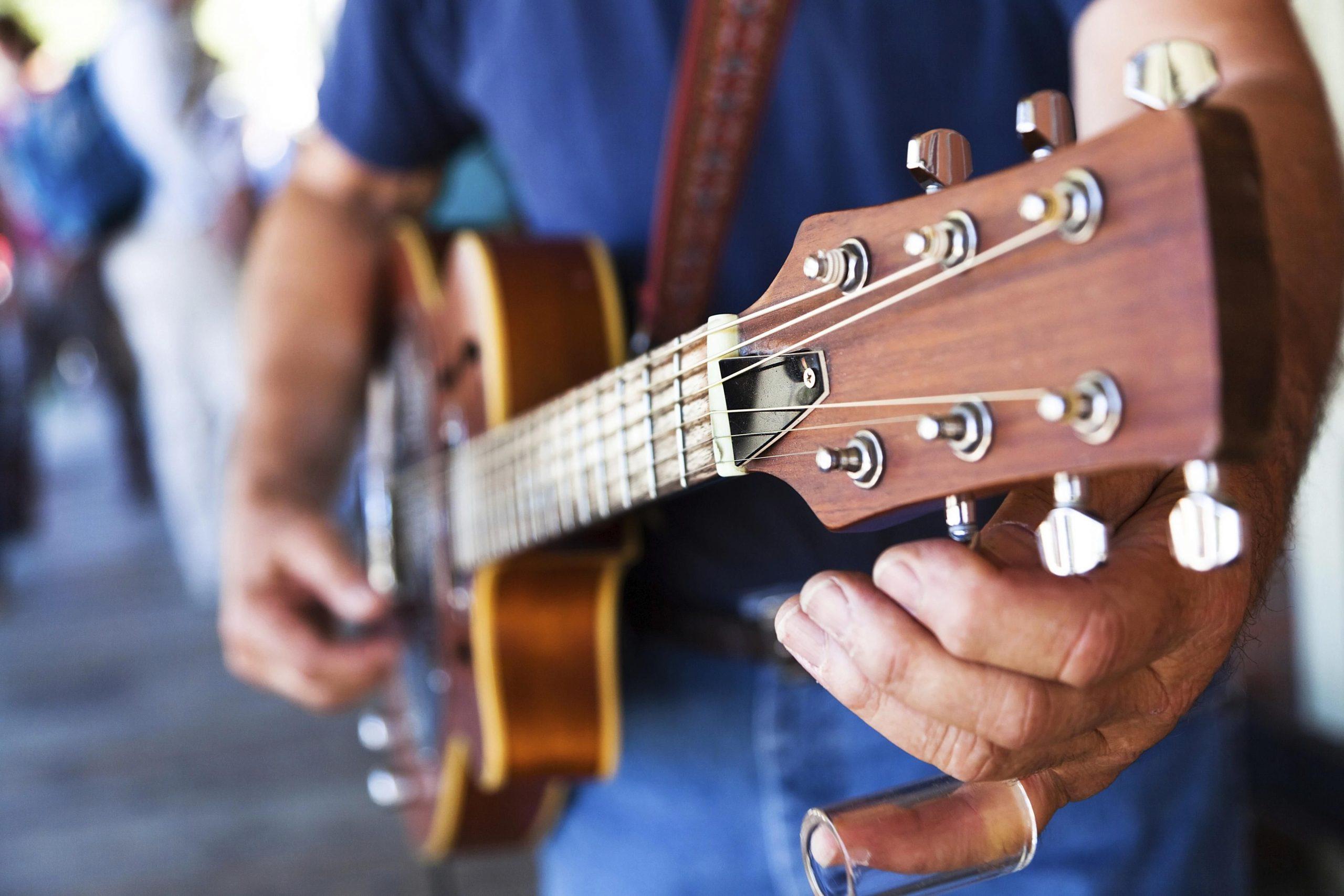 Aplicaciones para afinar tu guitarra
