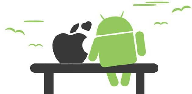 Android y iOs loves forever
