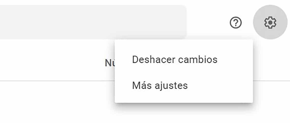 Recuperar contactos desde ajustes de Google