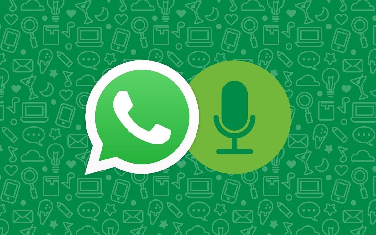 escribir por voz en WhatsApp