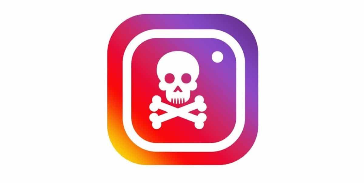 Logo Instagram hakeado