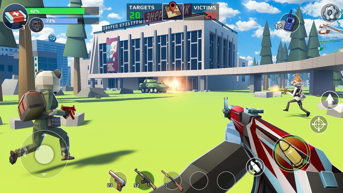 Battle Royales FPS