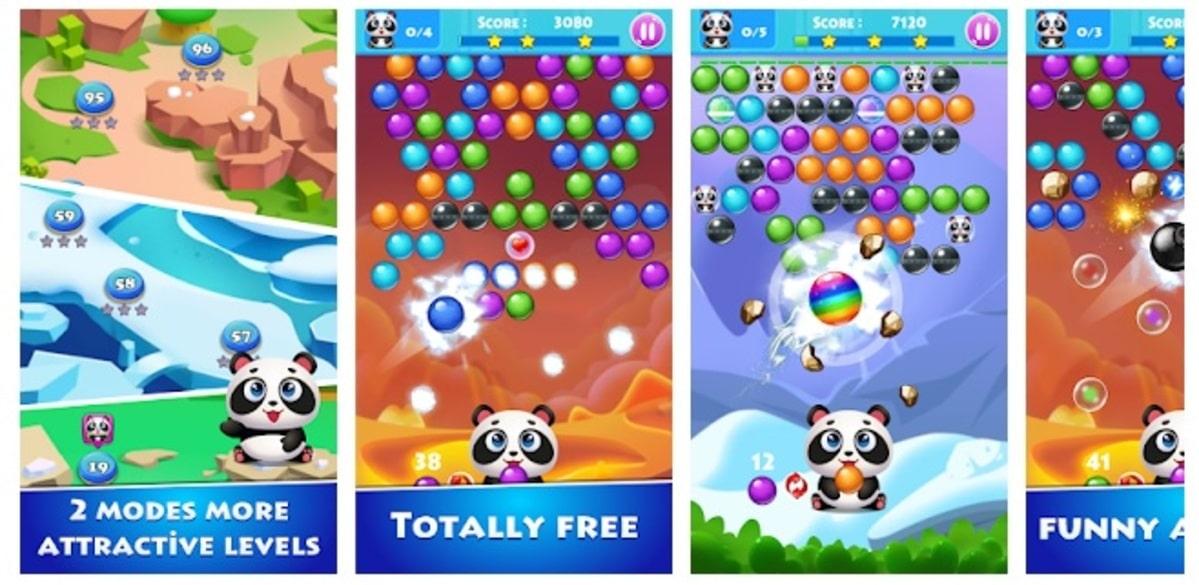 Juegos de Bolas burbujas