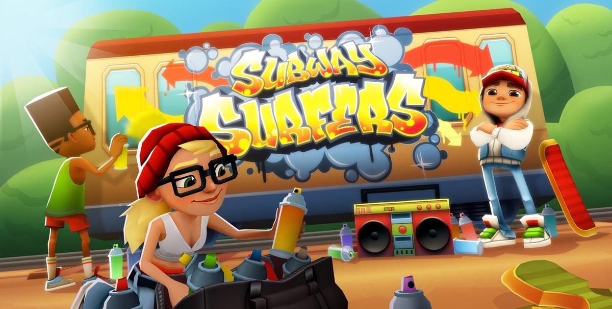 El mejor juego de salto de trenes, Subway Surfers para Android