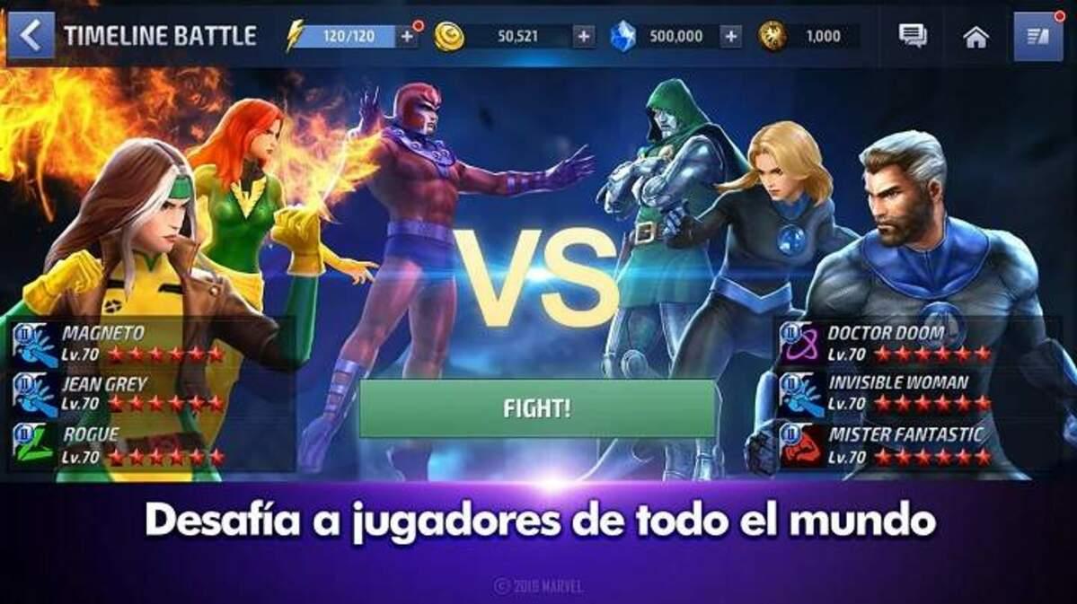 Mejores juegos Marvel Android