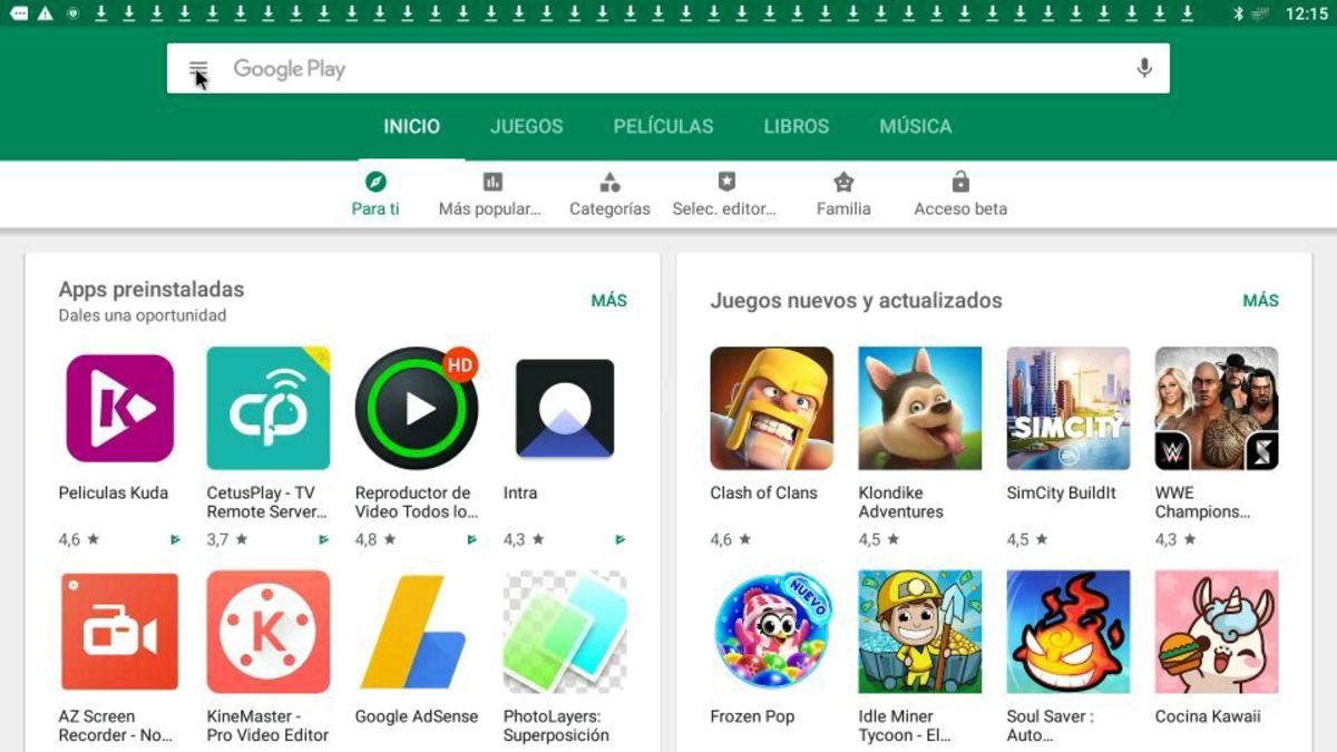 Detener actualizaciones automaticas Play Store