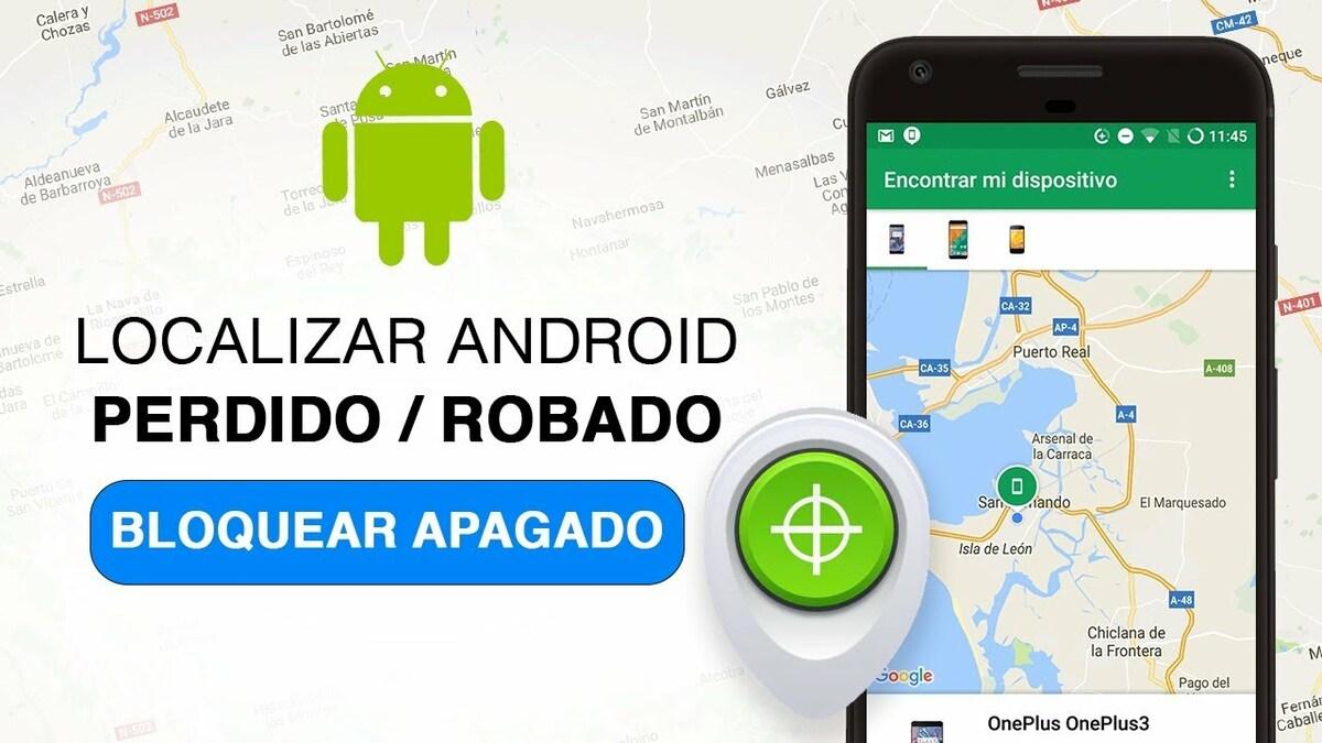 Bloquear Android perdido o robado