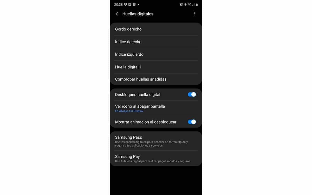 Huellas digitales para asegurar nuestro certificado digital en Android