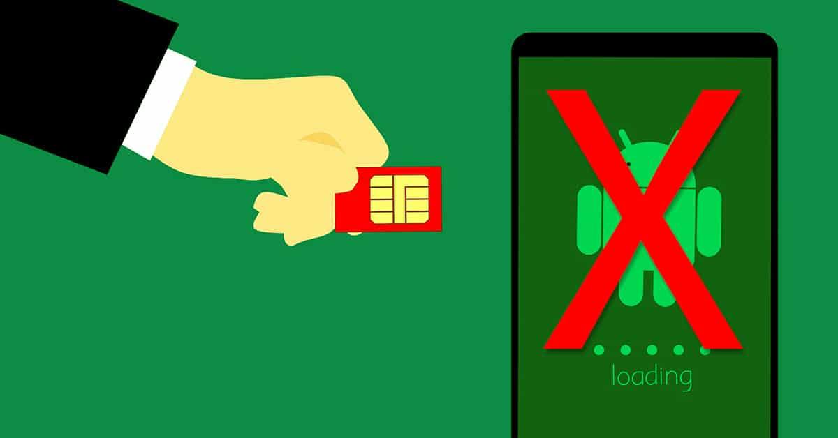 Móvil no reconoce la tarjeta SIM