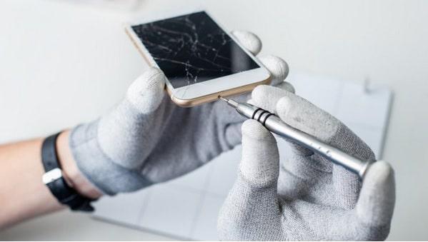 Reparación de pantalla de móvil