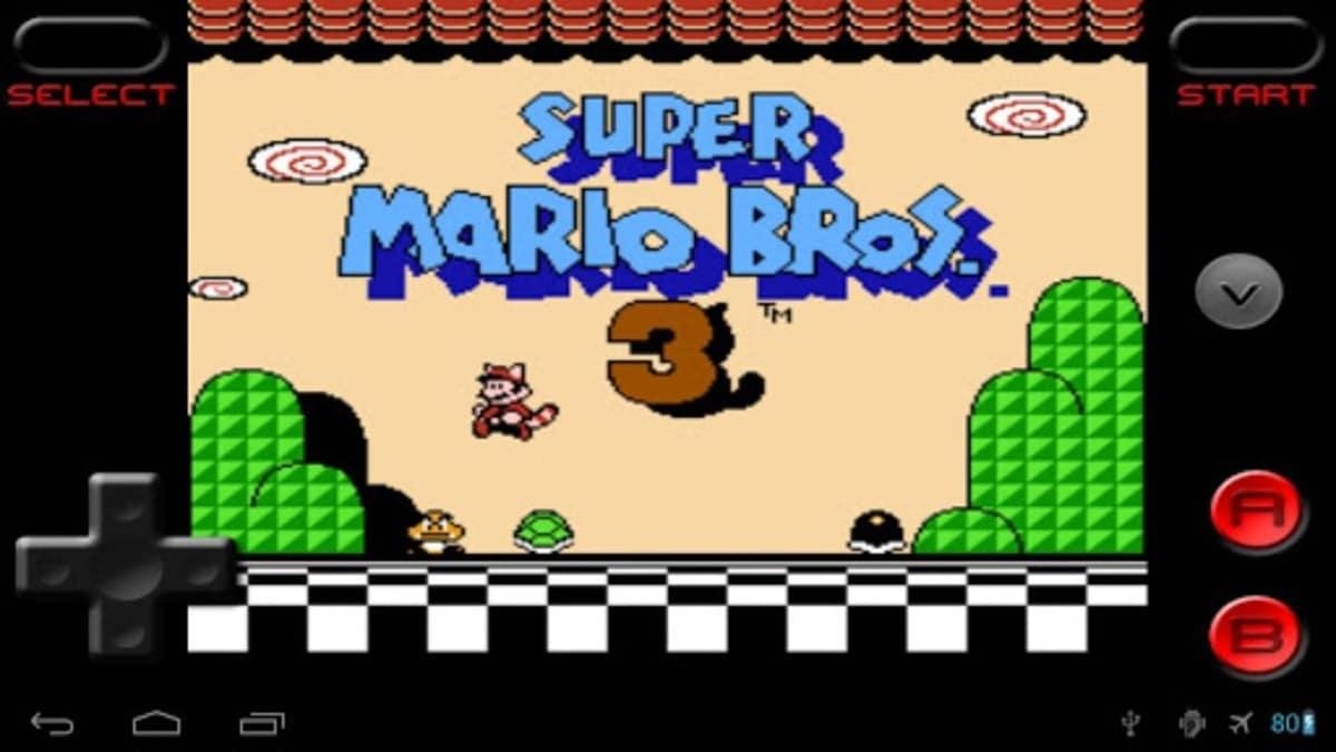 RetroArch Mario Android