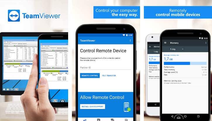 Controlar de forma remota un móvil Android