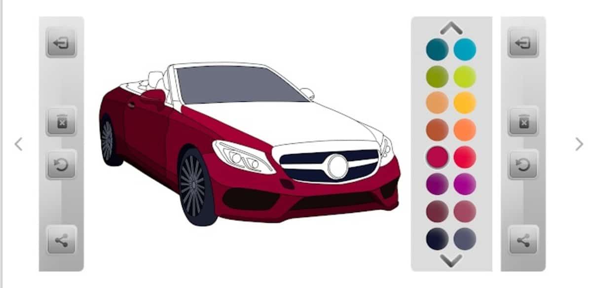 Juegos de pintar coches