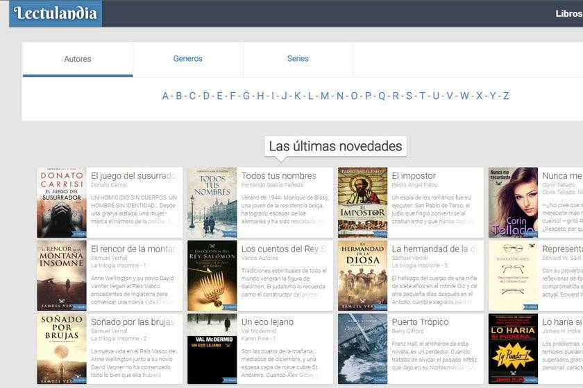Webs similares a Lectulandia