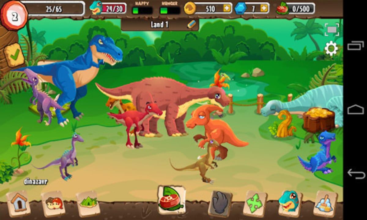 Los mejores juegos dinosaurios movil
