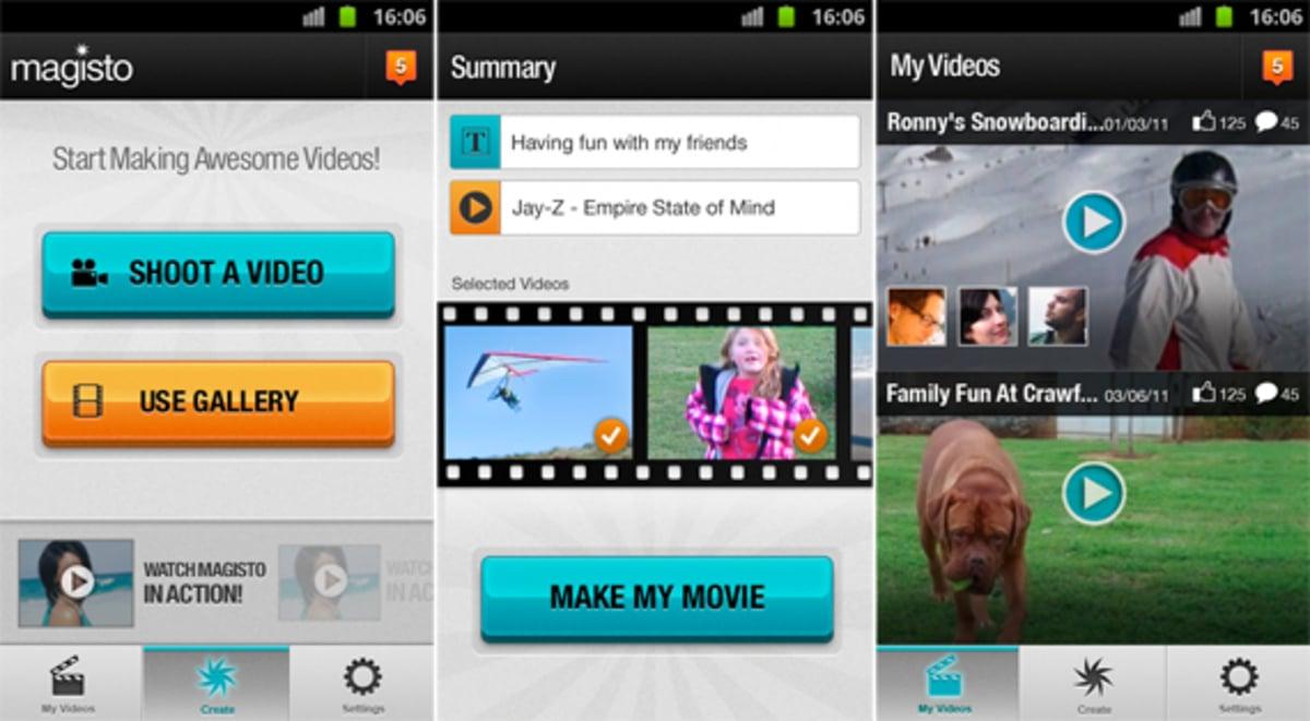 Magistro para editar vídeos en nuestro móvil