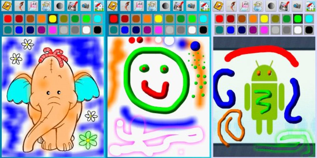 Mejores apps para pintar móvil