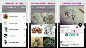 Mejores apps para diseñar tatuajes y ver cómo te quedarían