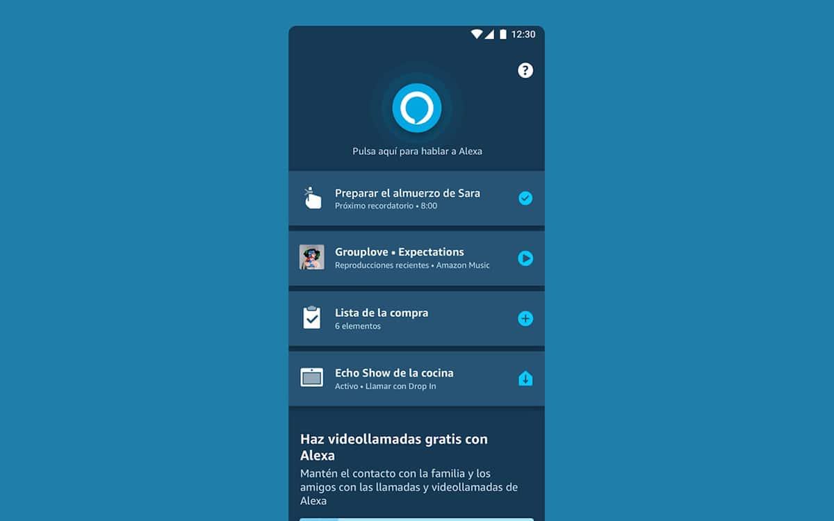 Alexa Android app