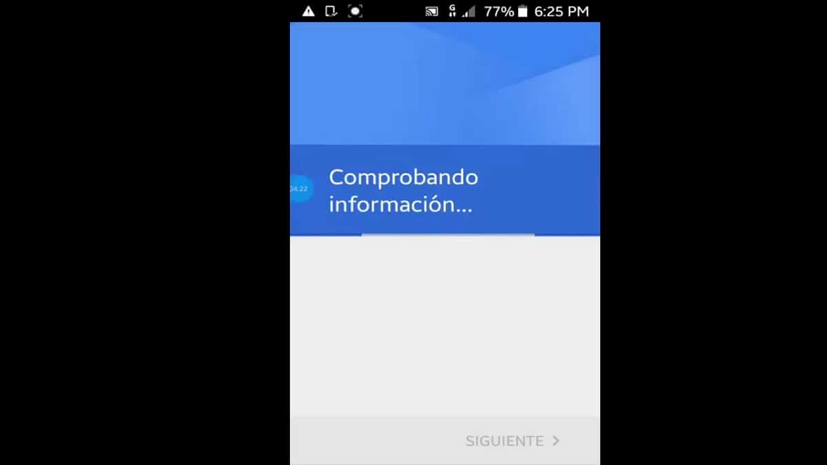 comprobando información android