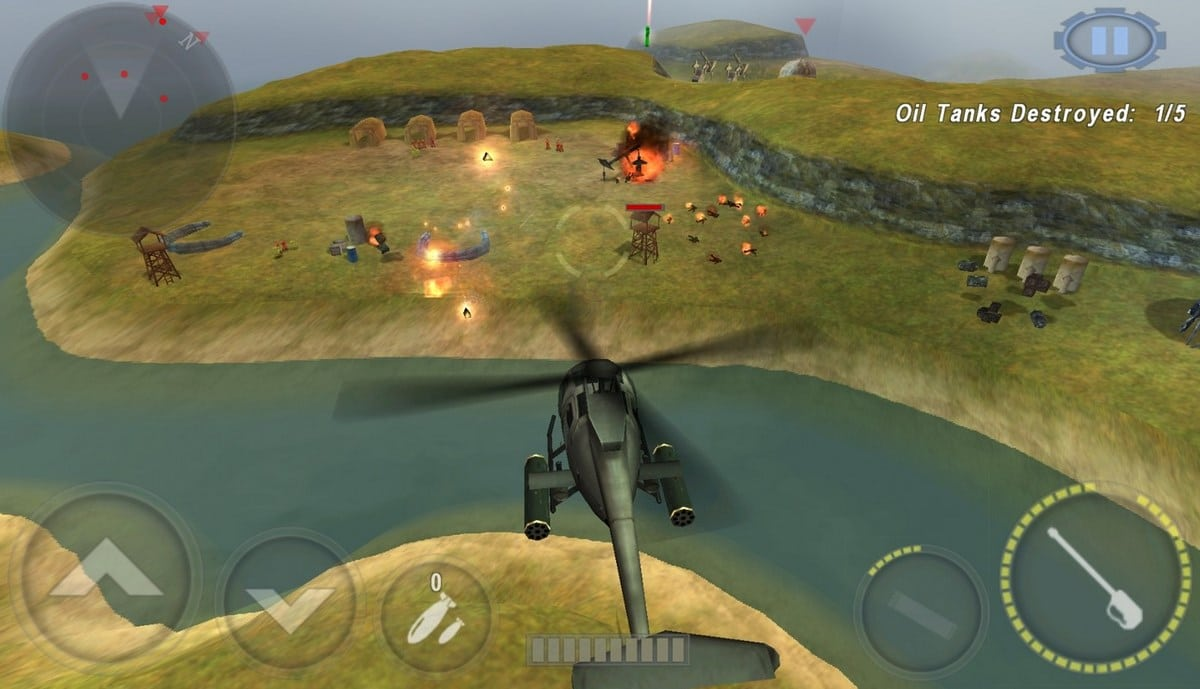 Juegos de helicópteros Android