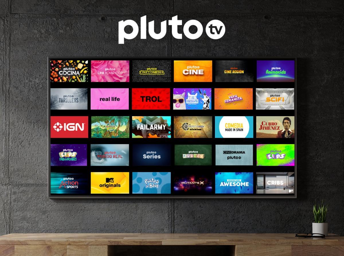 Contenido de Pluto Tv