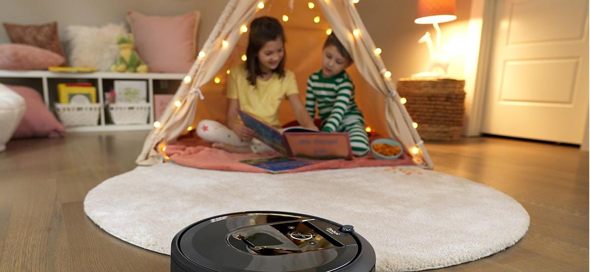 Roomba con Alexa para limpiar la casa